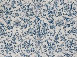Enid's Ramble Indigo Wallpaper